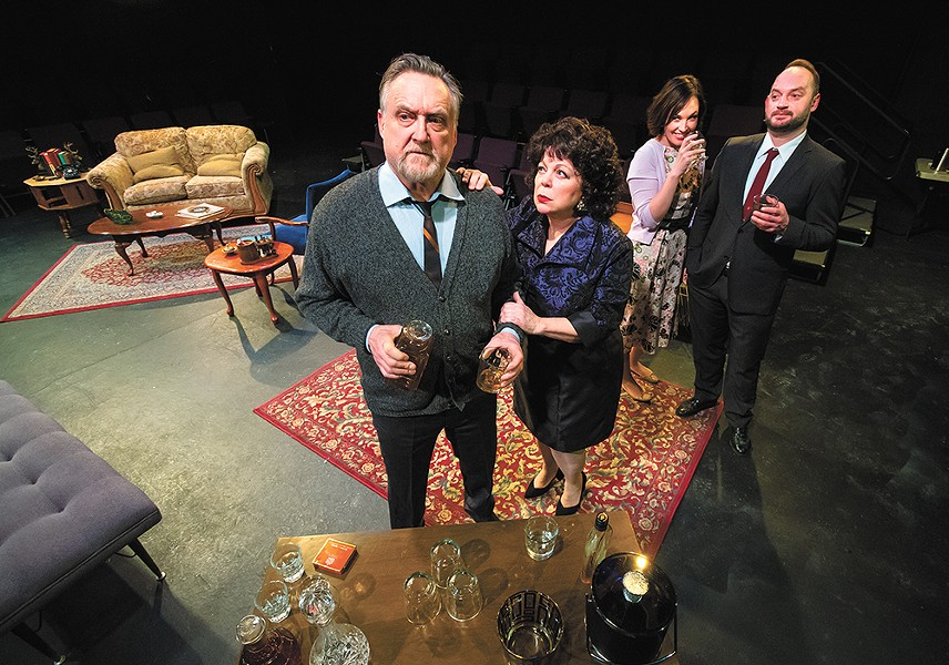 Expect added intensity in the Civic's unique staging of Who's Afraid of Virginia Woolf? - JEFF FERGUSON