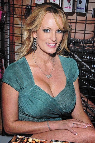 Former porn star Stormy Daniels allegedly had an affair with Donald Trump. She definitely worked on a non-adult film in Spokane with the Inlander's Nathan Weinbender. - GLENN FRANCIS PHOTO, WWW.PACIFICPRODIGITAL.COM