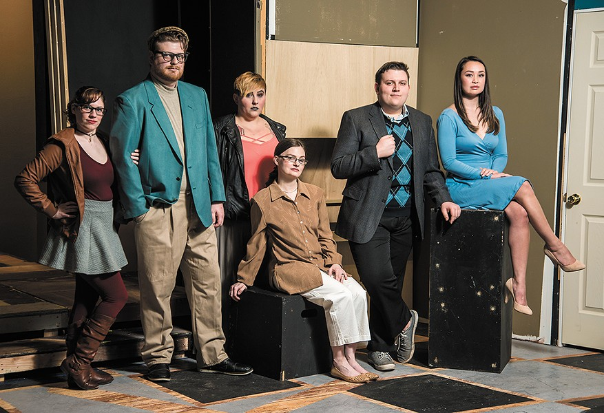 Comic infidelity fuels the romatic farce opening at Ignite! Community Theatre. - CHRIS WOOLEY PHOTO