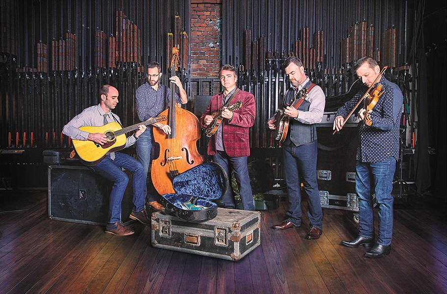 The Travelin' McCourys are bluegrass lifers with a knack for both traditional and progressive tunes.