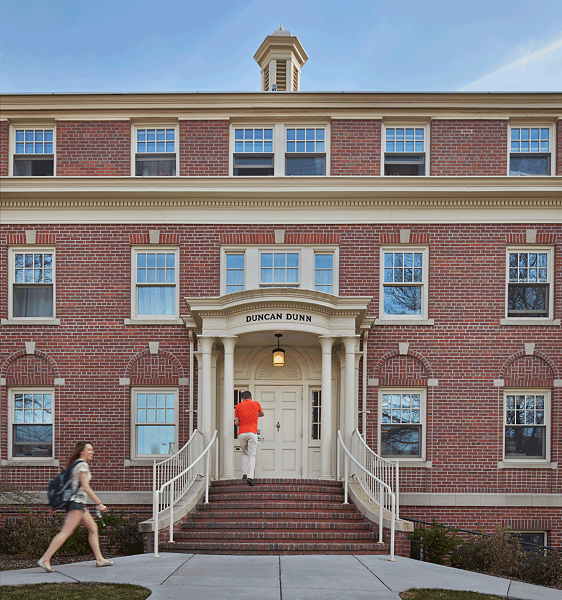 Duncan Dunn Hall, where a student in August fell from second-story window - COURTESY OF WSU