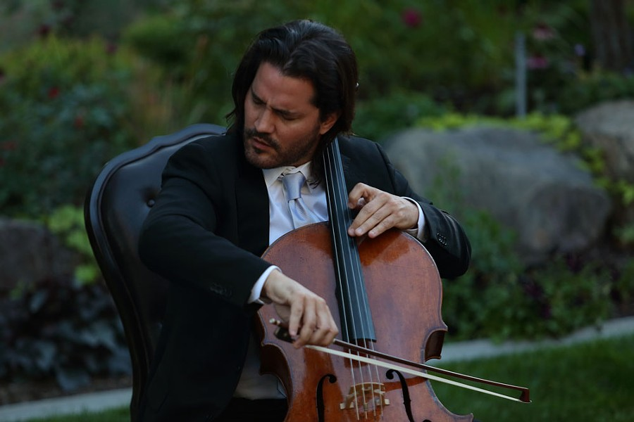 Grammy-winning cellist and Northwest Bach Festival Artistic Director Zuill Bailey. - NW BACH FEST