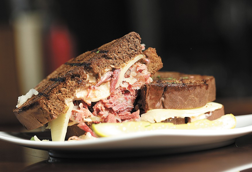 "O'Doherty's traditional Reuben, the ""Hooligan & Hannigan,"" truly delivers. - YOUNG KWAK"