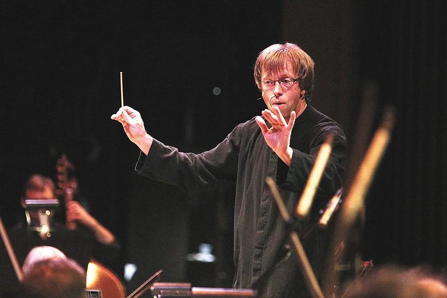 Spokane Symphony musical director and Conductor Eckart Preu