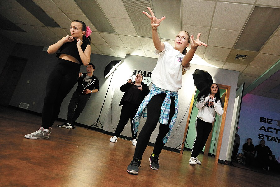 Spokane's Academy of Hip Hop teaches aspiring dancers video-ready moves. |YOUNG KWAK photo