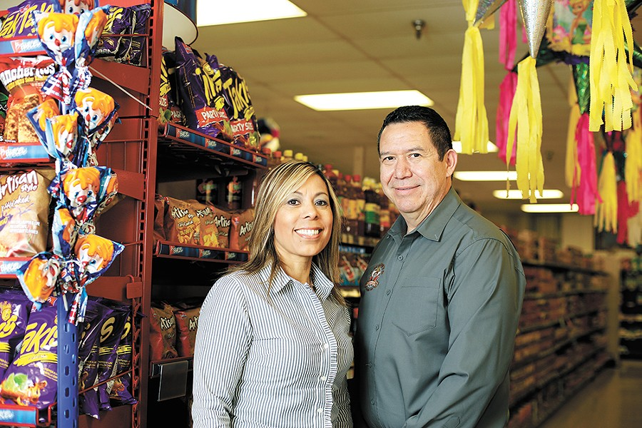 Owners Mayra De Leon and her husband, Sergio De Leon. - YOUNG KWAK