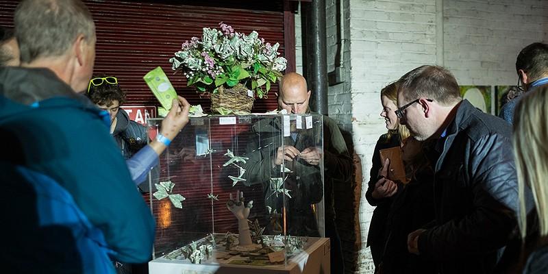 Terrain 10 Local artists showcase their work during Terrain 10 at the Jensen-Byrd Building. Hector Aizon