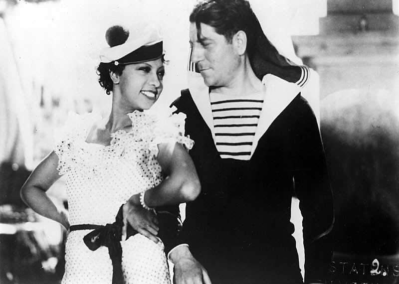 Josephine Baker (left) stars in Zou-Zou at the MAC Thursday, this week's  feature for Movie Night at the Museum.