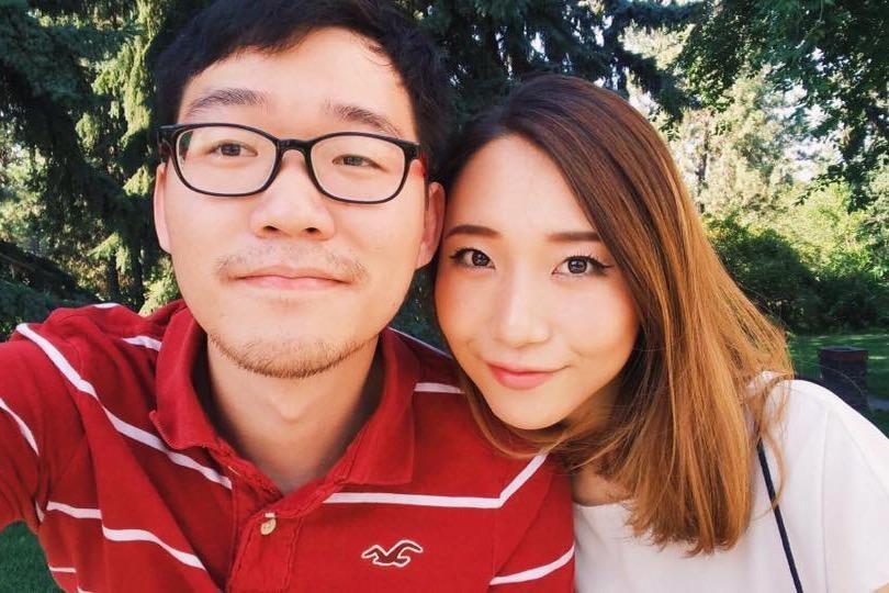 """Joochan """"JC"""" Austen Lee (left). - GOFUNDME"""