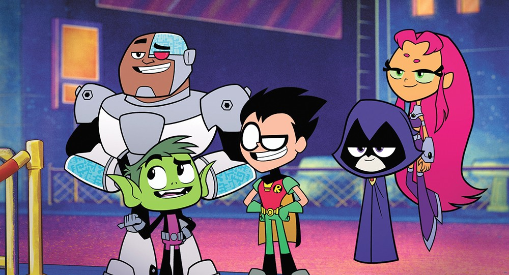 Teen Titans Go To The Movies Offers A Kid Friendly Superhero