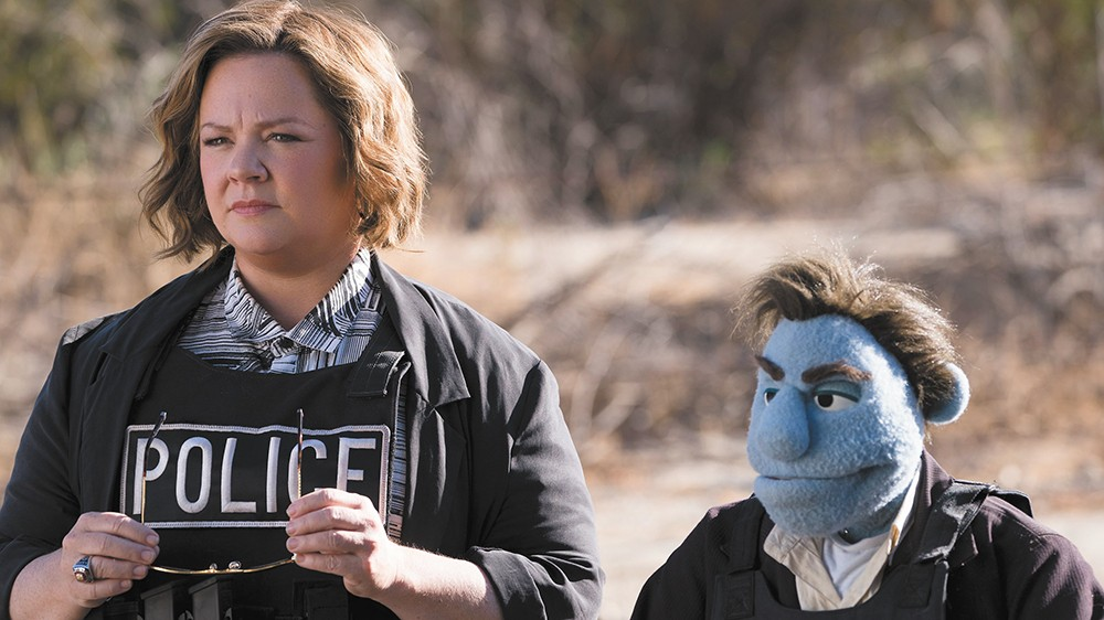Muppets least wanted: Even Melissa McCarthy seems bored in the tedious R-rated puppet film The Happytime Murders.