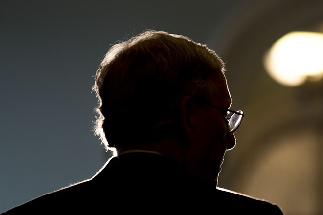 Senate Majority Leader Mitch McConnell - THE NEW YORK TIMES