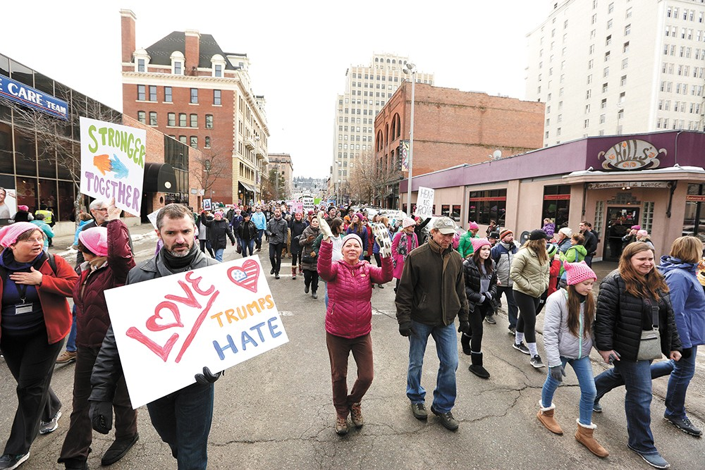 Women's March founder Teresa Shook shares her unlikely path to activism as she visits Spokane