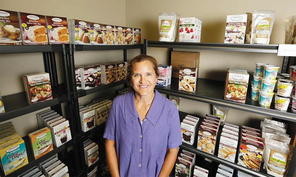 A leader in gluten-free and allergen-free specialty products, Coeur d'Alene's Namaste Foods grew from its founder's desire to help others