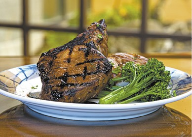 Mesquite Bone-in Pork Chop available during The Great Dine Out