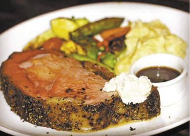 Herb Crusted Prime Rib available during The Great Dine Out