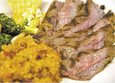 Tri-Tip Steak Plate available during The Great Dine Out