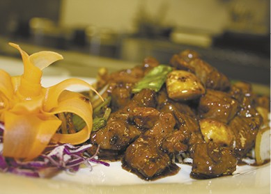 HONEY PEPPER GARLIC BEEF TENDERLOIN available during The Great Dine Out