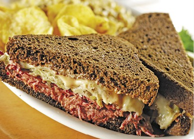 Traditional Reuben available during The Great Dine Out