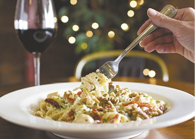 Chicken Gorgonzola Fettuccine available during The Great Dine Out