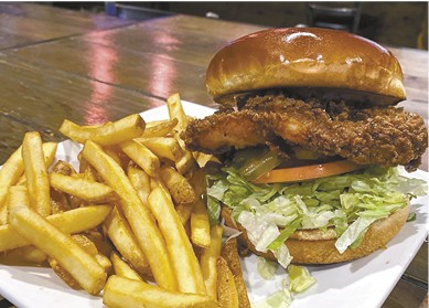 Fried Chicken Sandwich available during The Great Dine Out