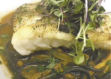 Chilean Sea Bass available during The Great Dine Out