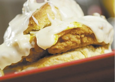 Chicken-in-a-Biscuit available during The Great Dine Out