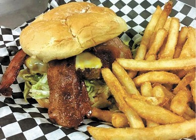 Bacon Burger available during The Great Dine Out