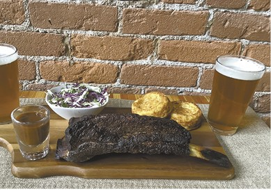 Smoke House Platter available during The Great Dine Out