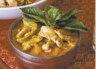 Thai Red Curry with Jasmine Rice available during The Great Dine Out