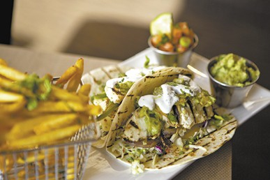 Grilled Halibut Tacos available during The Great Dine Out