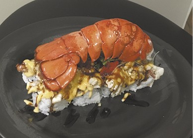Baked Lobster Roll available during The Great Dine Out