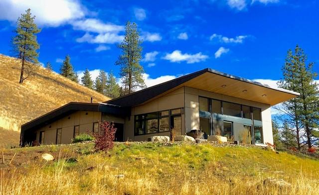 Balsam Hill House, Designer: Jay Stevens, BA—Environmental Design, Builder: Big Valley Builders