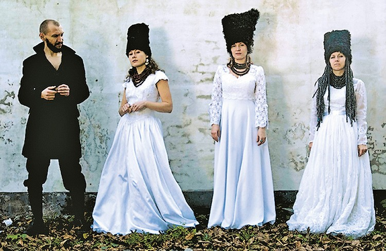 Ukrainian band DakhaBrakha