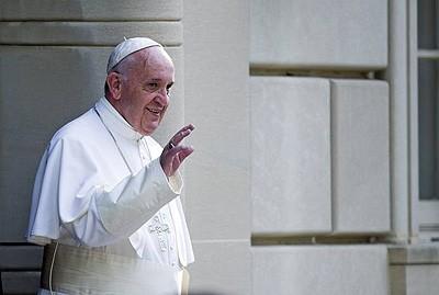 Pope Francis met with Kim Davis last week.