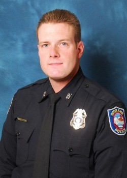 Officer Chris Conrath hooked up with a woman he met responding to a domestic violence call