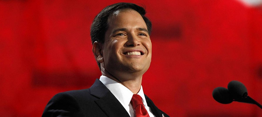 Sen. Marco Rubio got a big endorsement in Iowa, but is still behind Trump and Cruz.