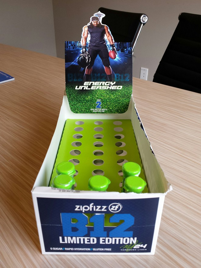 We tried the Beast Mode-affiliated Zipfizz energy drink so
