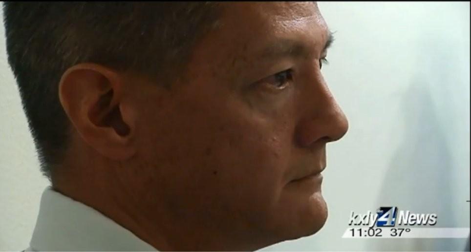 City Spokesman Brian Coddington at an ethics commission hearing in November - KXLY SCREENCAP
