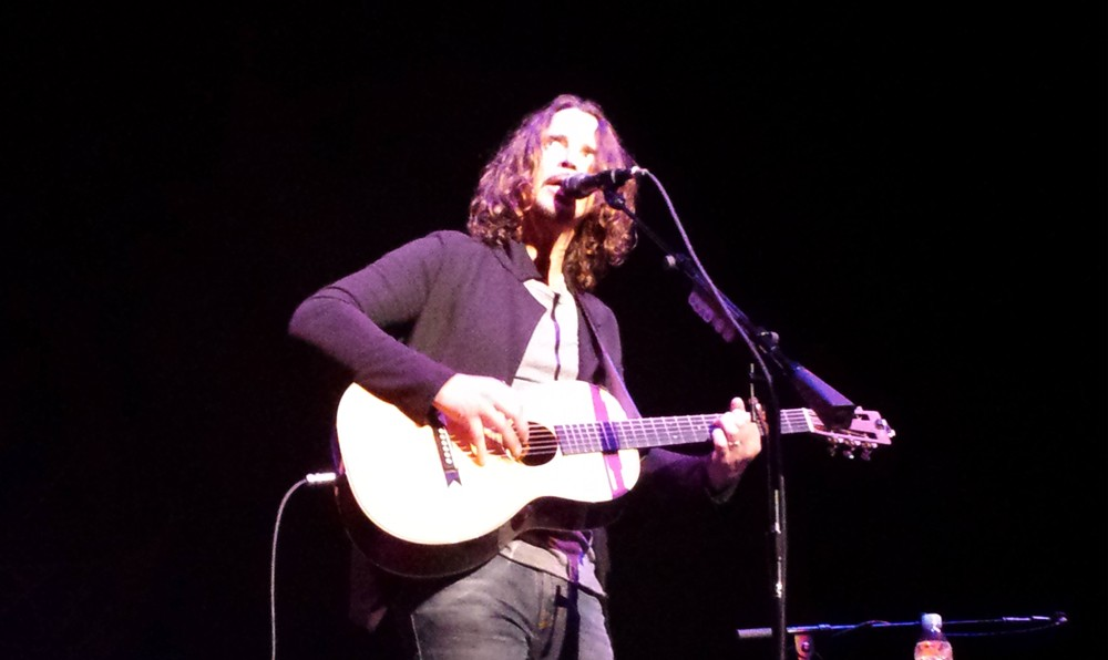 Chris Cornell included several covers in his show Wednesday. - DAN NAILEN