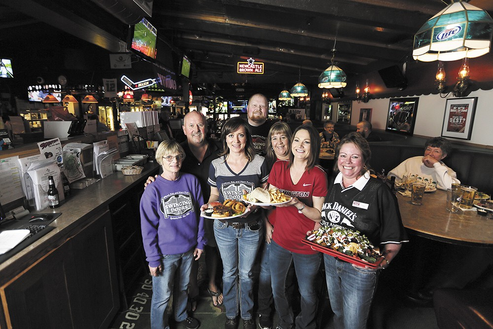 click to enlarge The team at the family-owned Swinging Doors.\ - YOUNG KWAK  sc 1 st  Inlander & Sports Bars | Nightlife u0026 Bars | The Pacific Northwest Inlander ... pezcame.com