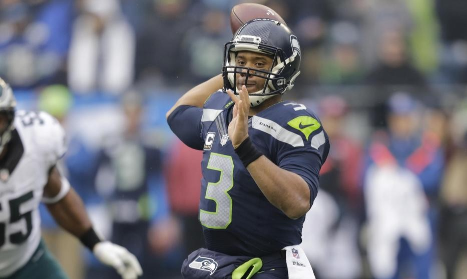 Danger Russ led the 'hawks to another win Sunday. - SEAHAWKS.COM