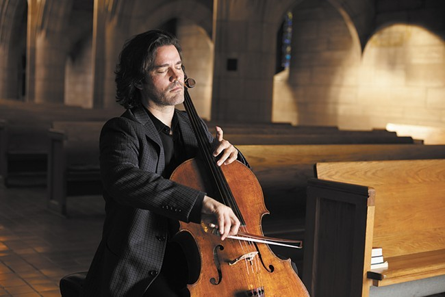 Northwest Bach Festival's Zuill Bailey at St. John's Cathedral.