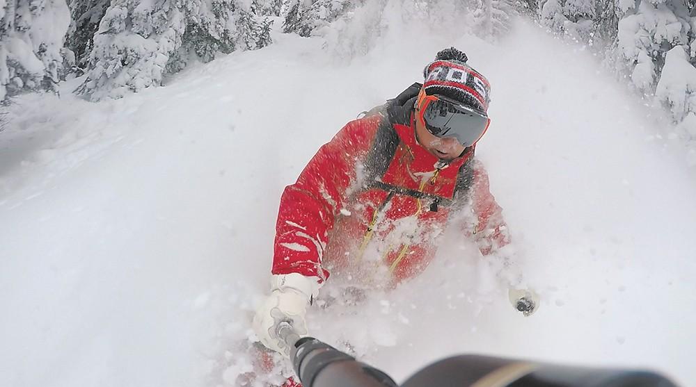 Skiing with Kingfisher - BOB LEGASA