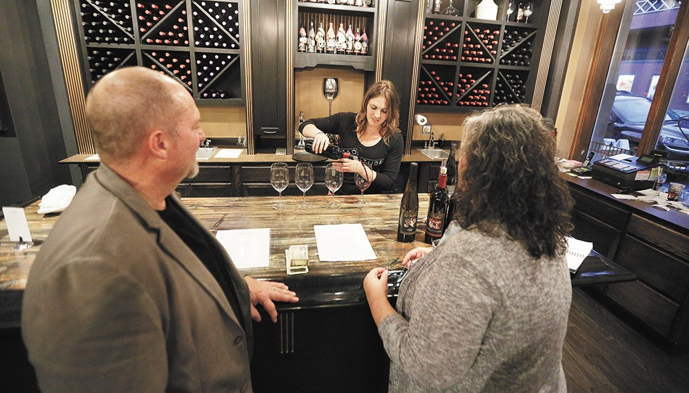 The Nodland Cellars tasting room downtown poured its last glass at the end of January. Terra Blanca has taken its place in the Chronicle Building.