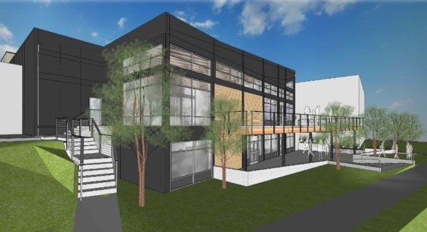 Maryhill's tasting room is planned for the balcony level.