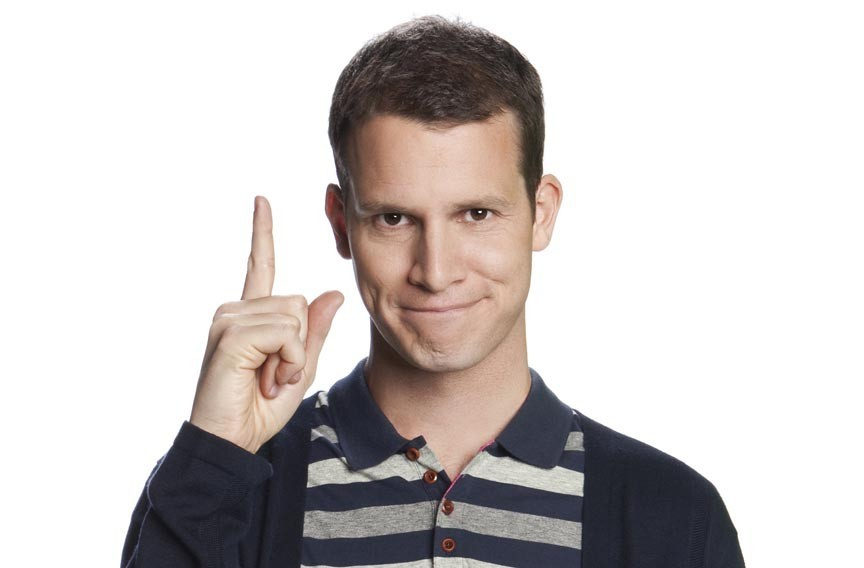 Daniel Tosh headlines the Star Theater at the Spokane Arena on Thursday.