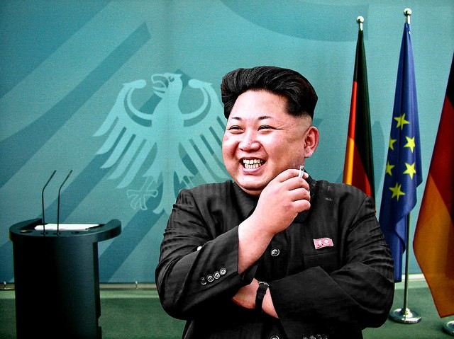 Kim Jong-un, North Korea's Supreme Commander of the Armed Forces - CC BY-SA 2.0