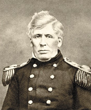 Col. George Wright led a brutal campaign against local Indian tribes in 1858.