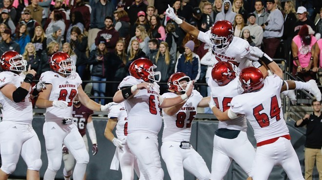 It was a total team effort as Eastern rallied from a 24-6 halftime deficit to stun Montana 48-41 in Missoula. - EWU ATHLETICS